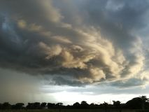 Cloud formation Stock Photography