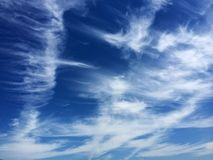 Cloud formation like eagle Stock Images