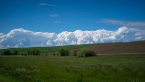 Cloud formation in the Palouse Stock Images