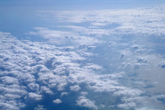 Cloud formations. Stock Image