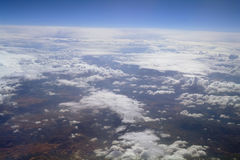 Cloud formations. Royalty Free Stock Photography