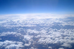 Cloud formations. Royalty Free Stock Photo