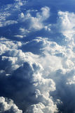 Cloud formations Royalty Free Stock Photography