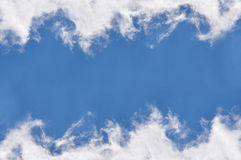 Cloud frame Royalty Free Stock Image
