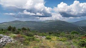 cloud góry Zdjęcia Royalty Free