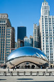 Cloud Gate Royalty Free Stock Image