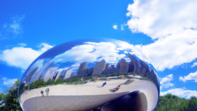 Cloud Gate (The Bean) Stock Photos