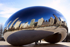Cloud Gate Bean Stock Images