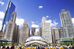 Cloud Gate (The Bean) Royalty Free Stock Photography