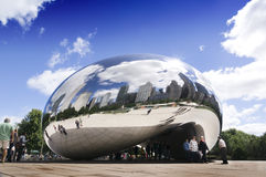 Cloud Gate (The Bean) Royalty Free Stock Photo