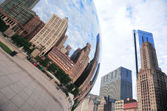 Cloud Gate in Chicago Royalty Free Stock Images