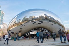 Cloud Gate Stock Photography