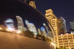 Cloud Gate Stock Photo