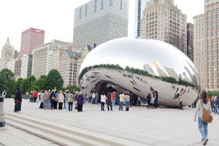Cloud Gate Royalty Free Stock Photography