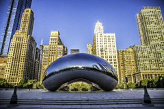 The Cloud Gate Royalty Free Stock Photos
