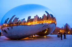 Cloud Gate Royalty Free Stock Photos