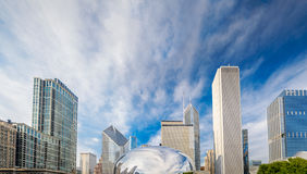 Cloud Gate in Chicago Royalty Free Stock Photo