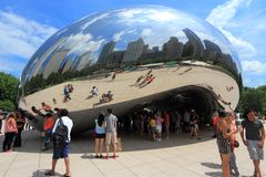 Cloud Gate, Chicago Royalty Free Stock Images