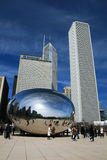 The Cloud Gate in Millennium Park Royalty Free Stock Image