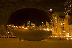 Cloud Gate Park Royalty Free Stock Photos