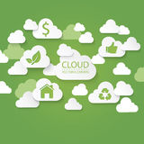 Cloud Green Concept Royalty Free Stock Image