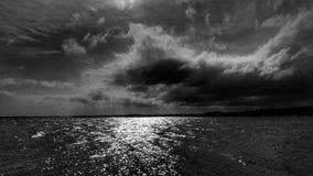 cloud havet Fotografering för Bildbyråer
