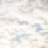 Cloud hexagon background Royalty Free Stock Photography