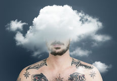 Cloud Hidden Dilemma Depression Bliss Stock Images