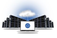 Cloud Hosting Concept Stock Images