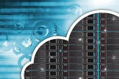 Cloud Hosting Concept Stock Photos