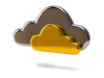 Cloud Icon Stock Photo