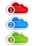 Cloud icon Stock Image