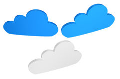 Cloud icon Royalty Free Stock Photography