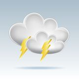 Cloud  icon. Stock Photography
