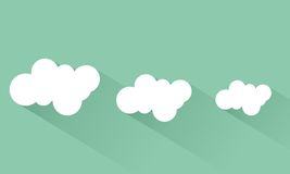 Cloud. Icon cloud flat design Royalty Free Stock Photography