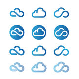 Cloud icon Royalty Free Stock Photo