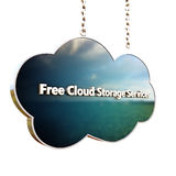 Cloud icon Stock Image