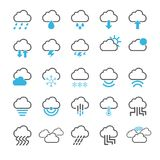Cloud icon set. /16 vector for design Vector Illustration