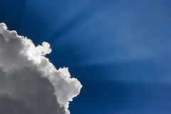 Free Cloud In Front Of Sun Stock Images - 23076894