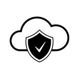 Cloud internet technology. Internet and web technology icon. Web icon Royalty Free Stock Photo