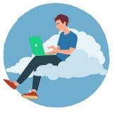 Cloud internet Stock Photo