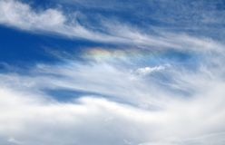 Cloud iridescence Royalty Free Stock Image