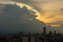 Cloud iridescence Stock Images
