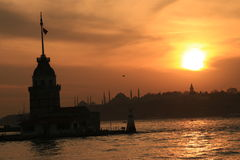Cloud and istanbul Royalty Free Stock Photos
