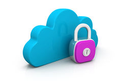 Cloud with key Stock Photography