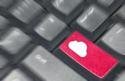 Cloud keyboard Royalty Free Stock Image