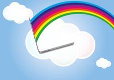 Cloud laptop Stock Photos