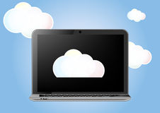 Cloud laptop Stock Images