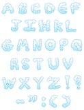 Cloud letters Stock Photos