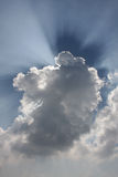 Cloud and light Royalty Free Stock Photos